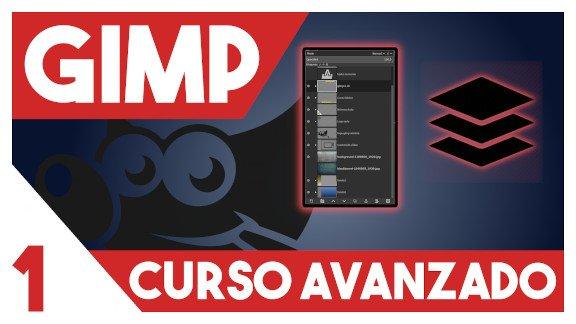 GIMP Capas, modos, bloqueos y grupos