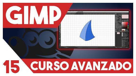 GIMP Crear formas geométricas y curvas
