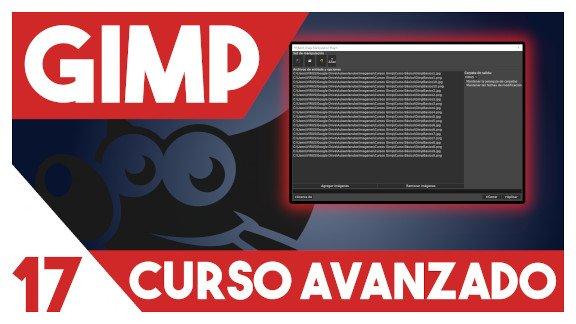 GIMP Edición de imágenes en lotes con BIMP