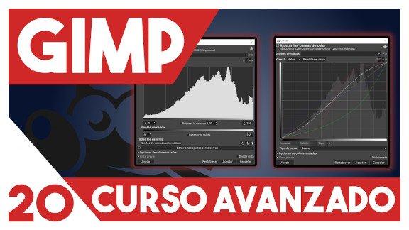 GIMP Niveles y curvas de color