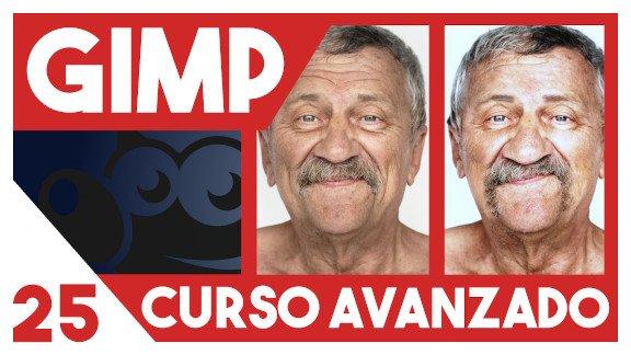 GIMP Retoque facial completo