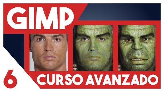 GIMP Fusión de cara avanzado