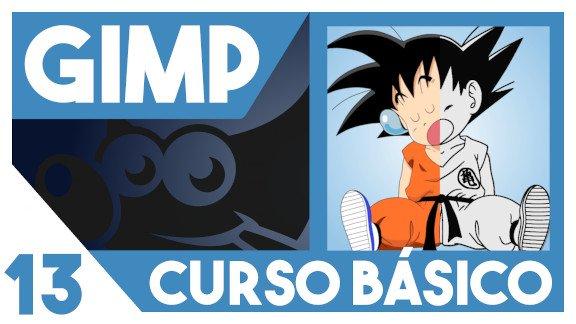 GIMP Colorear un dibujo sin capas