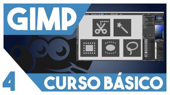 GIMP Herramientas de selección