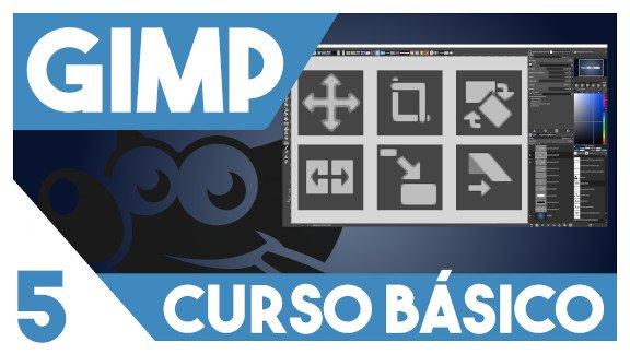 GIMP Herramientas de transformación