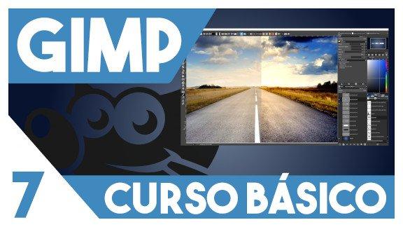 GIMP Herramientas de color básicas