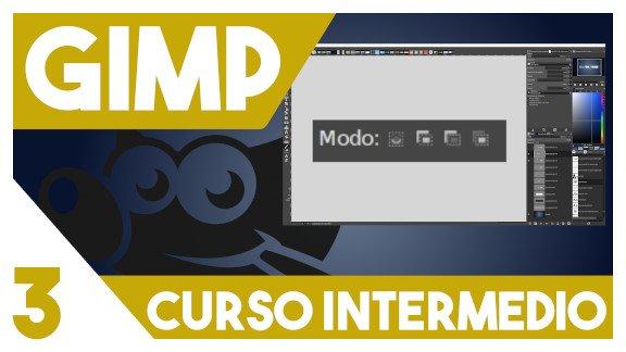 GIMP Modos de selección