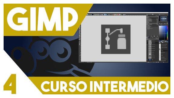 GIMP Herramienta de rutas