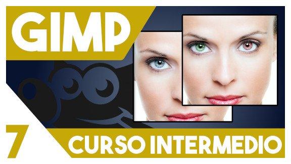 GIMP Cambiar el color de ojos