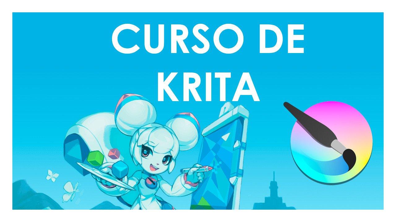 🥇 Curso de Krita – 🎨 Empieza a hacer dibujos digitales