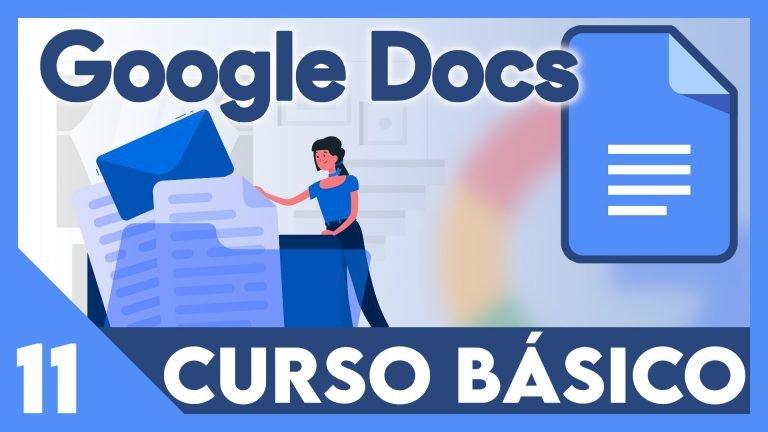 Curso Google documentos - Tablas