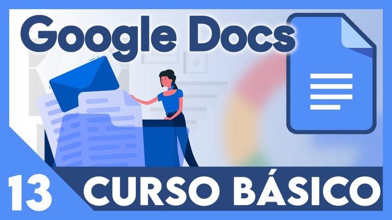 Curso Google documentos - Índice