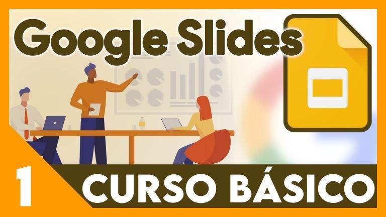 Curso Google presentaciones - Crear, exportar e imortar