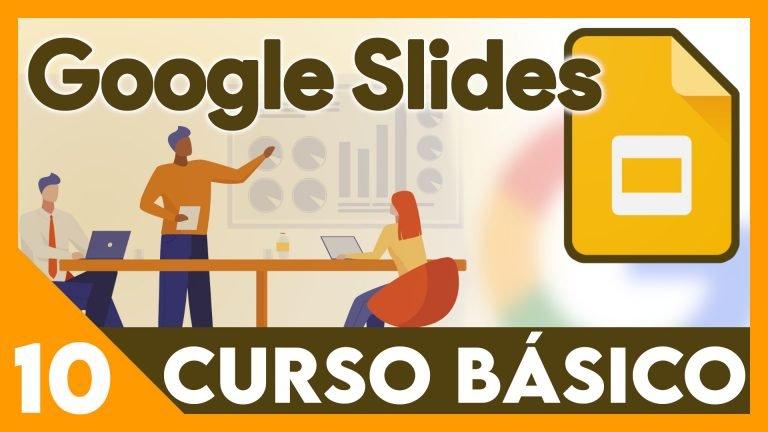 Curso Google Presentaciones - Ordenar y agrupar
