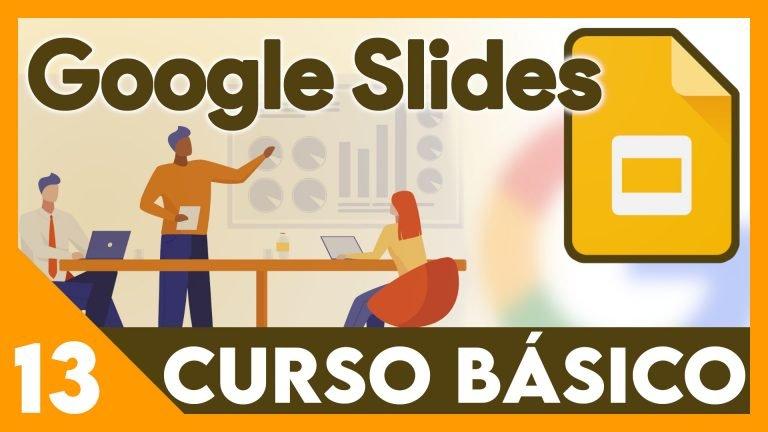 Curso Google Presentaciones - Plantillas