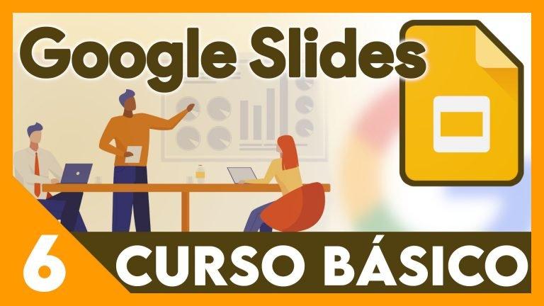 Curso Google Presentaciones - Tablas