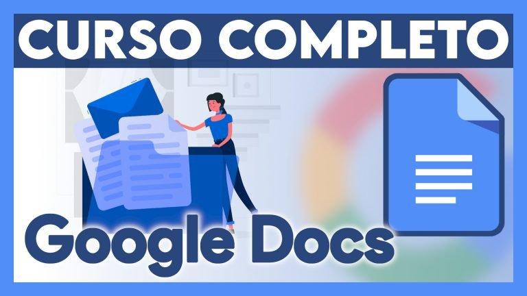 Portada Curso Google Documentos
