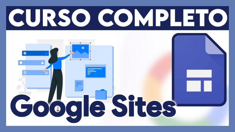Curso Completo Google Sites en español